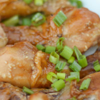 Gluten Free Instant Pot Teriyaki Chicken Drumsticks Recipe