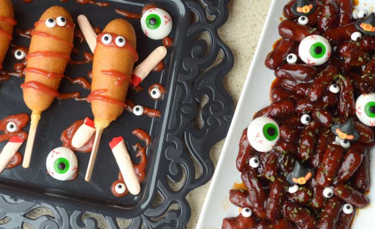 Creepy Corn Dogs & Spooky Brains
