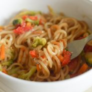 Chicken Chow Mein with Tai Pei Foods