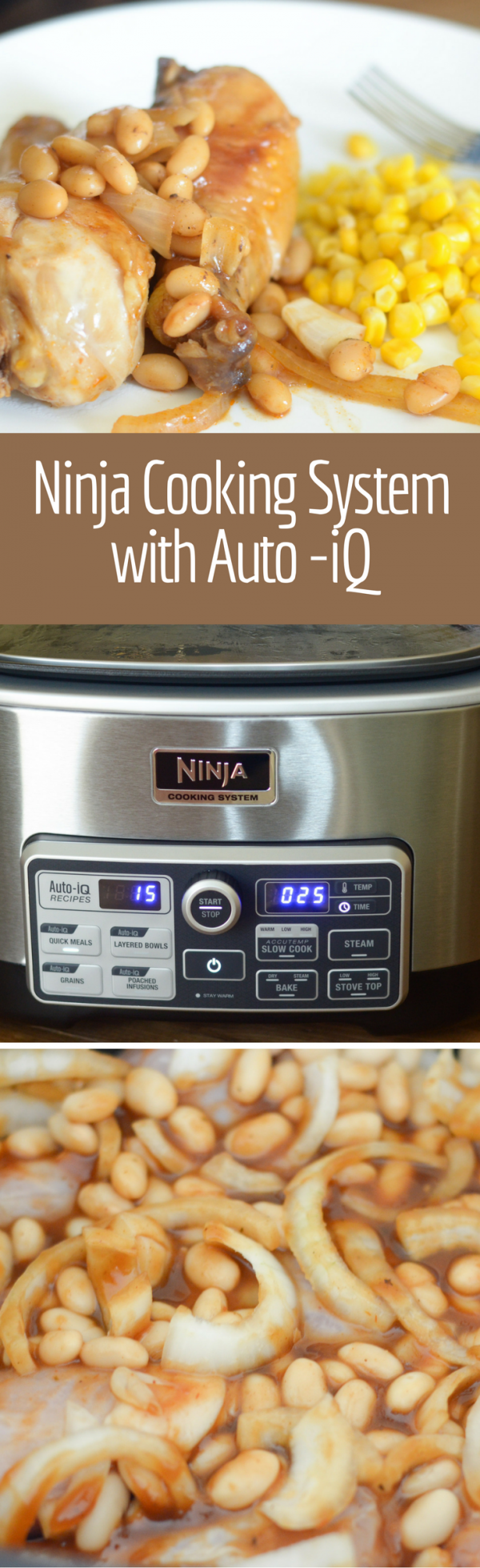 Ninja Cooking System with Auto-iQ #NinjaDeliciouslyDoneEasy #NinjaPartner #Ad #IC