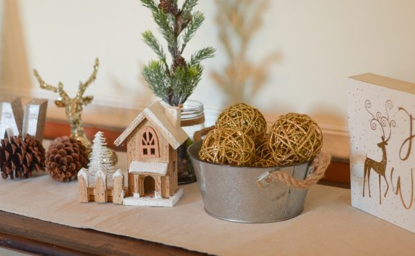 Simple Holiday Decor with At Home #AtHomeStores #Sponsored