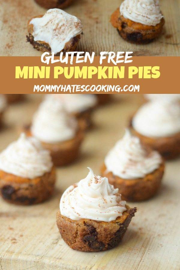 Gluten Free Mini Pumpkin Pies