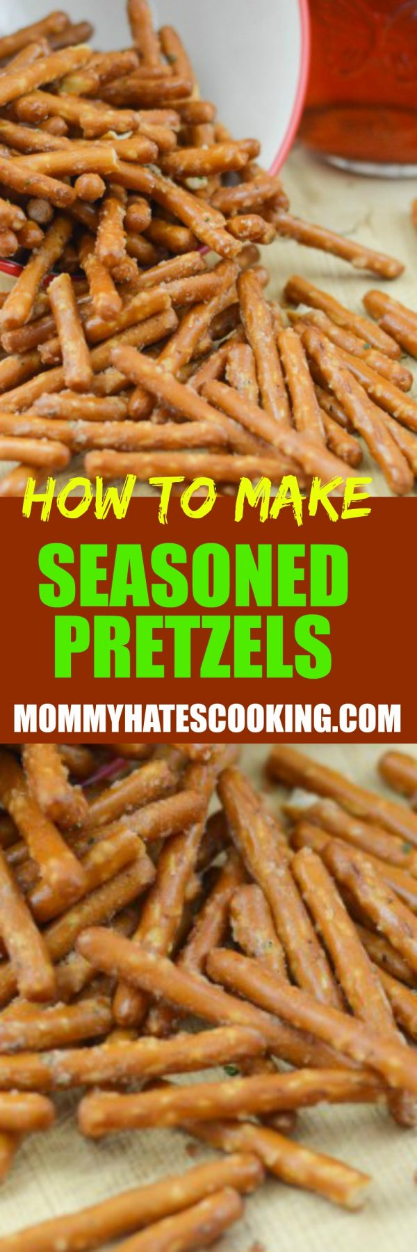 How to Make Seasoned Pretzels