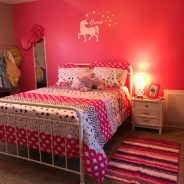 Creating a Pink & Gray Room for a Girl