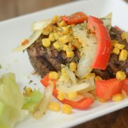 {Giveaway} Veggie Topped Filet Mignon
