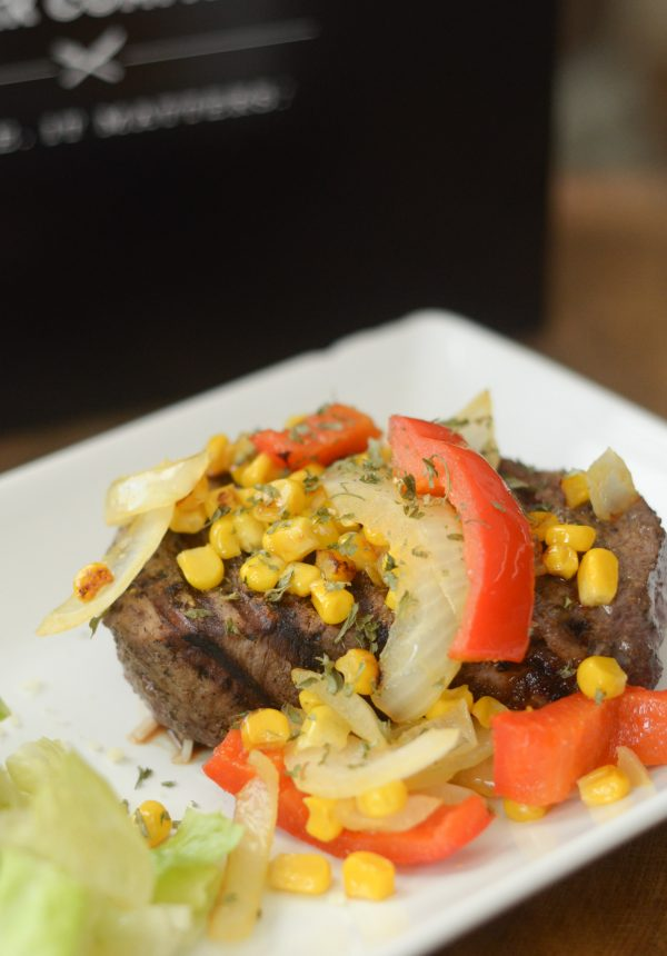 {Giveaway} Veggie Topped Filet Mignon #GiftsthatSizzle #ad