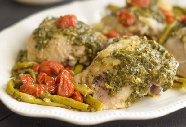 pressure cooker pesto chicken