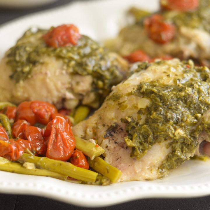 Instant Pot Pesto Chicken