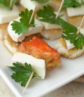 {Holiday Appetizer} Parmesan Herb Bites