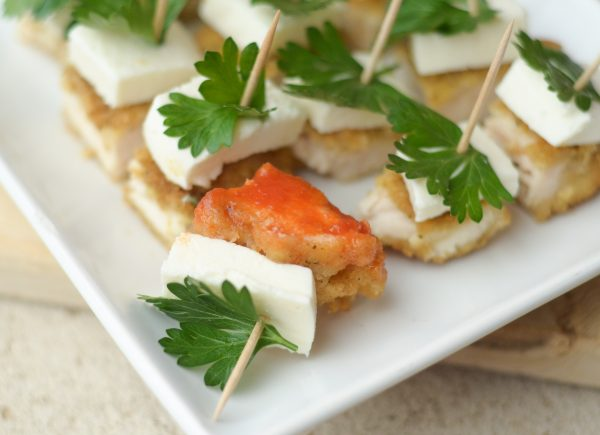 {Holiday Appetizer} Parmesan Herb Bites #TysonMadewithLove #ad