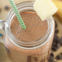 Coconut Chocolate Mocha Smoothie