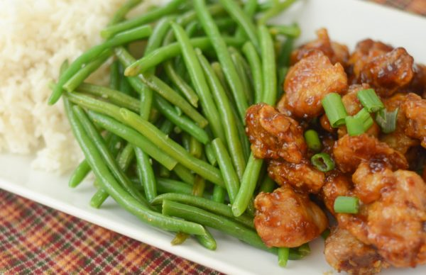 Air Fryer Honey Garlic Chicken
