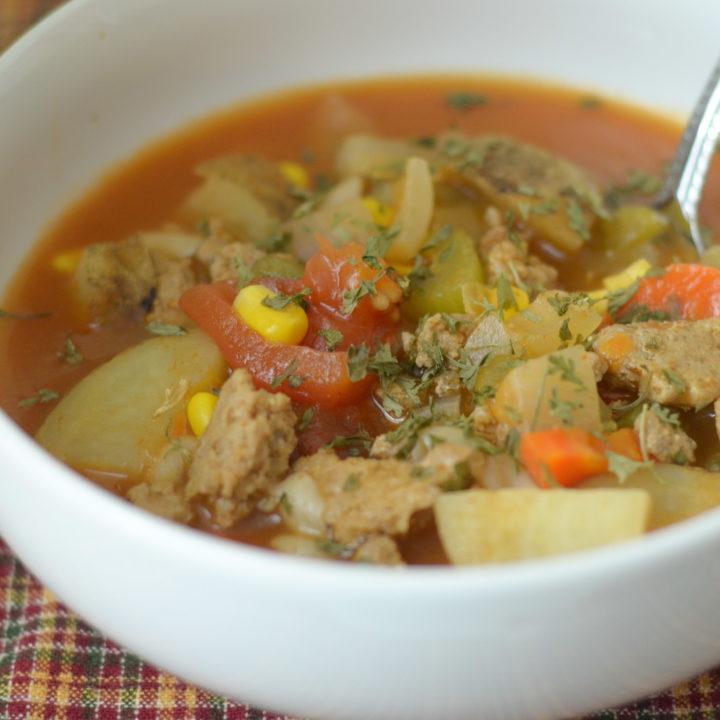 Ninja Foodi Beef Vegetable Soup