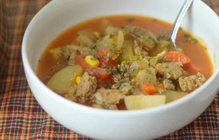 Pressure CookerVegetable Soup