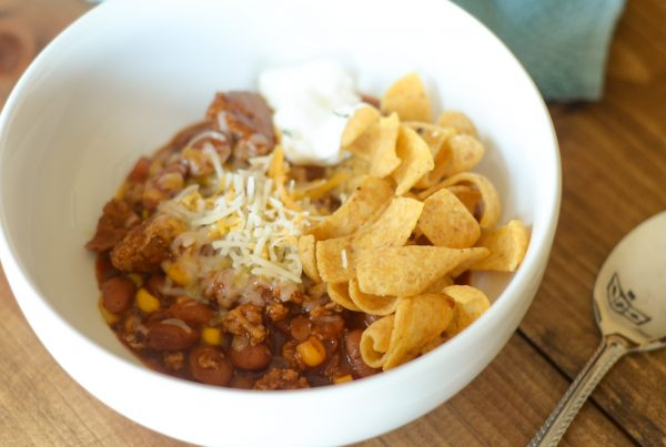 Gluten Free Turkey & Corn Chili