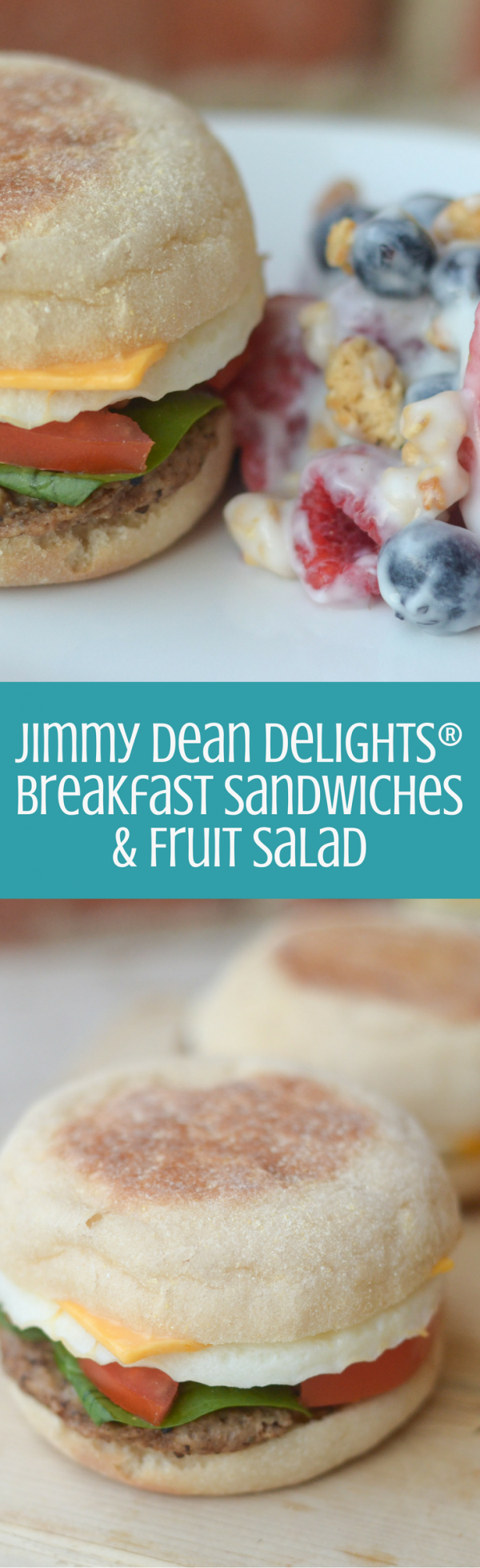 Jimmy Dean Delights Breakfast Sandwiches & Fruit Salad