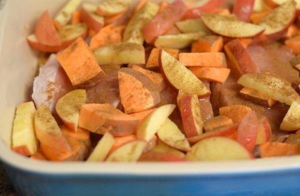 Maple Cinnamon Pork Chops
