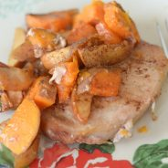 Maple Cinnamon Pork Chops