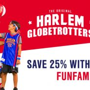 25% Off Tickets for the Harlem Globetrotters