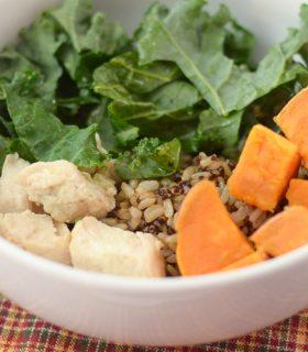 Sweet Potato & Kale Rice Bowl