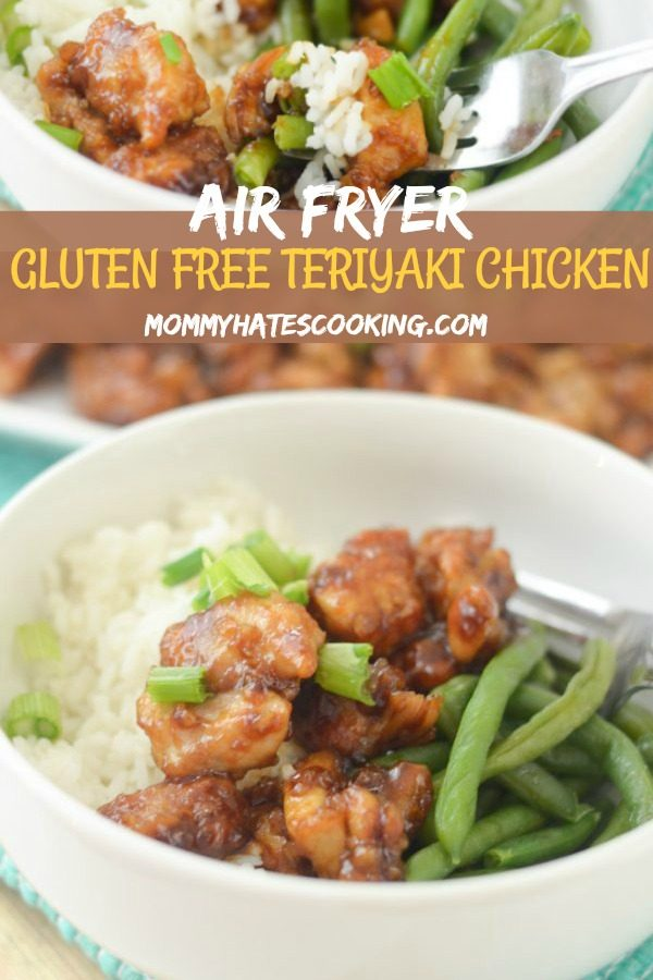Air Fryer Gluten Free Teriyaki Chicken