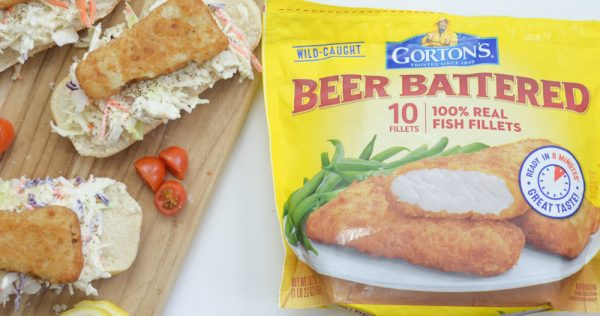 Beer Battered Fish Sandwiches