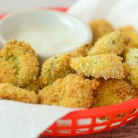 Air Fryer Fried Pickles