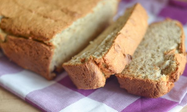 High Fiber Banana Bread