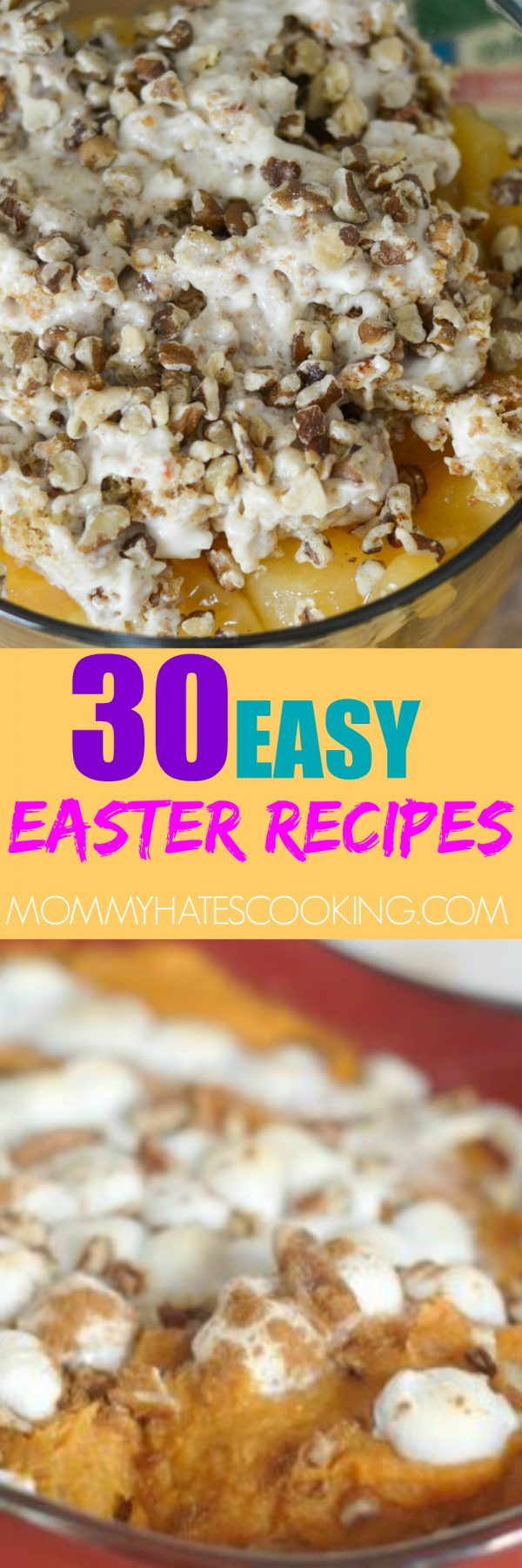 30 EASY EASTER RECIPES