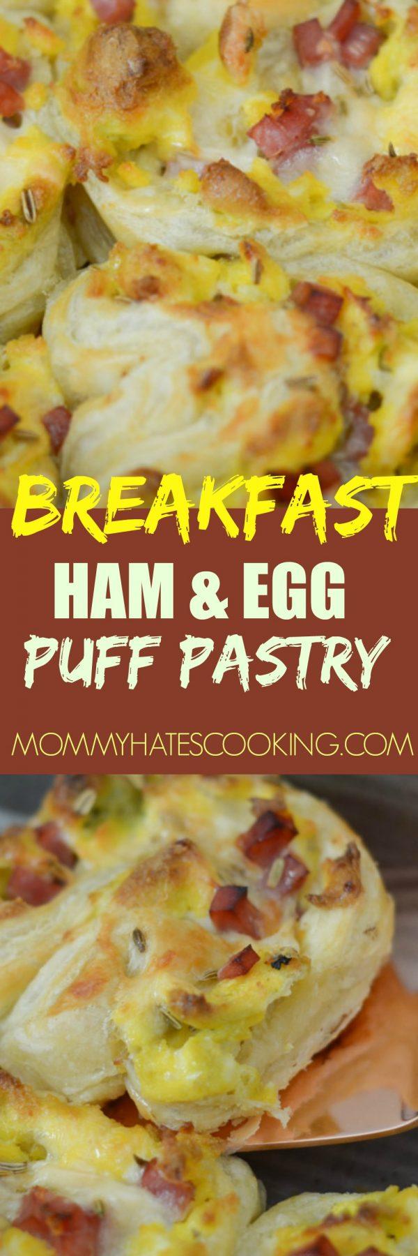 Ham & Egg Puff Pastry