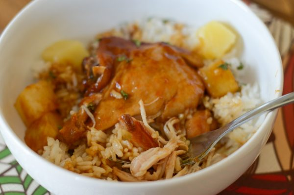 Instant Pot Honey Ginger Chicken