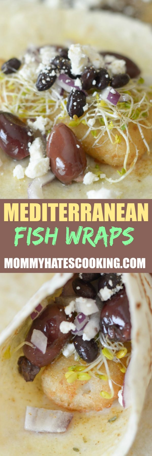 Mediterranean Fish Wraps