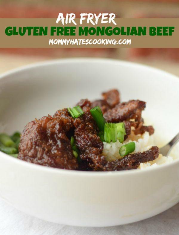 Air Fryer Gluten Free Mongolian Beef