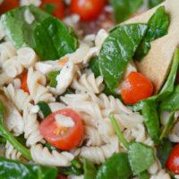 Gluten Free Chicken Caesar Pasta Salad