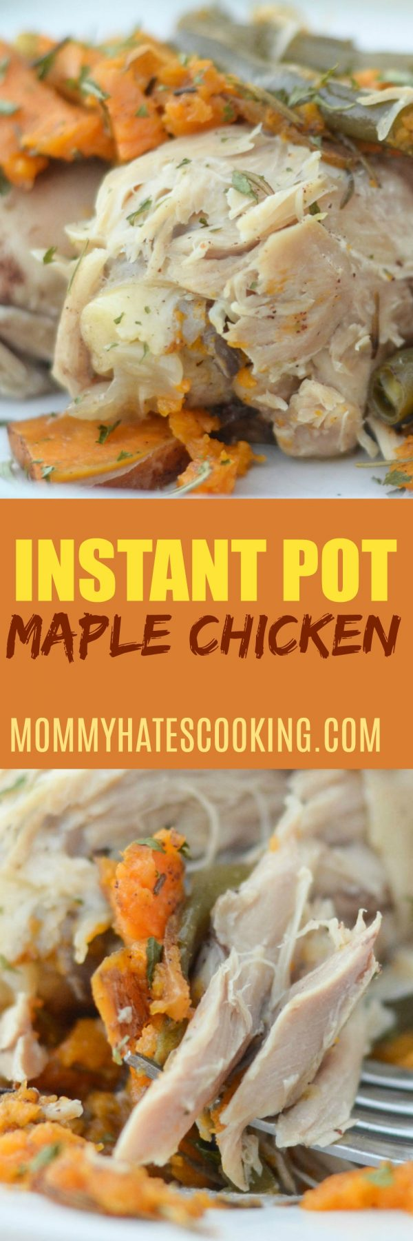 INSTANT POT MAPLE CHICKEN