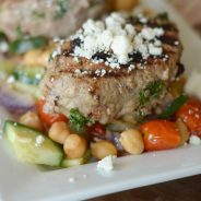 Kofta with Chickpea Salad