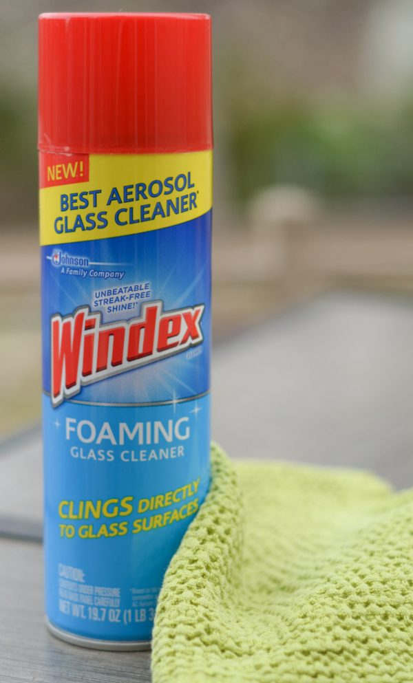 Give Life a Sparkle with Windex® Foaming Glass Cleaner #WindexSparkle #ad