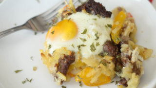 Air Fryer Sausage Breakfast Casserole