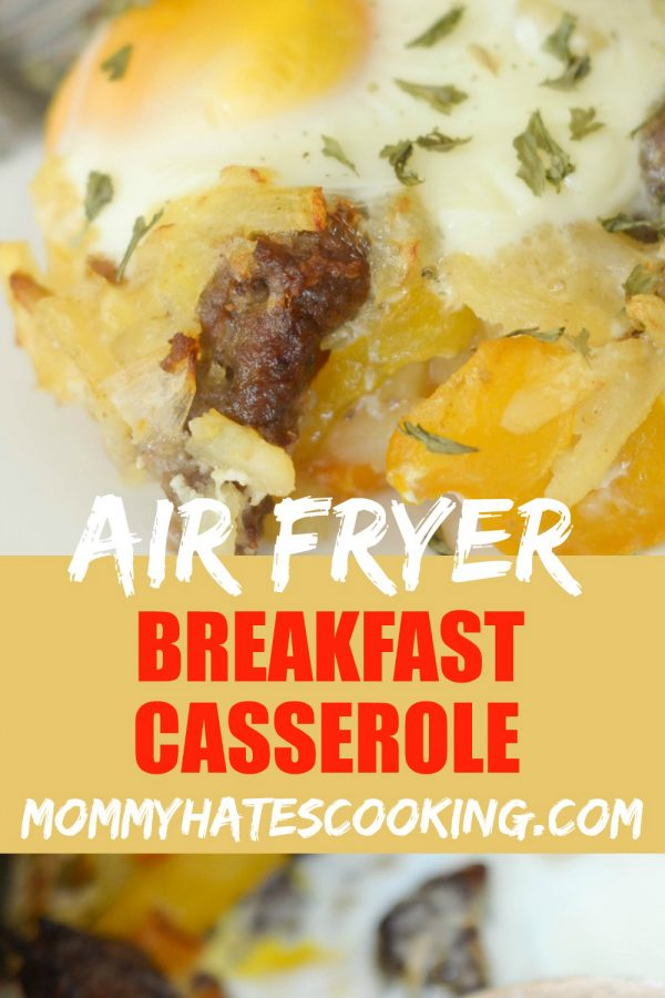 Air Fryer Breakfast Casserole