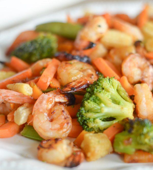 air fryer honey garlic shrimp