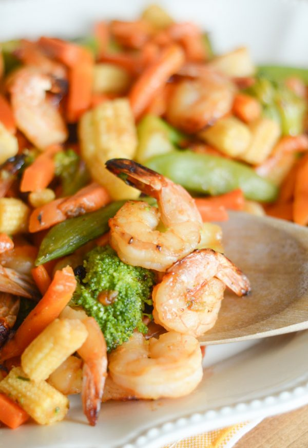AIR FRYER HONEY GARLIC SHRIMP #GLUTENFREE #AIRFRYER