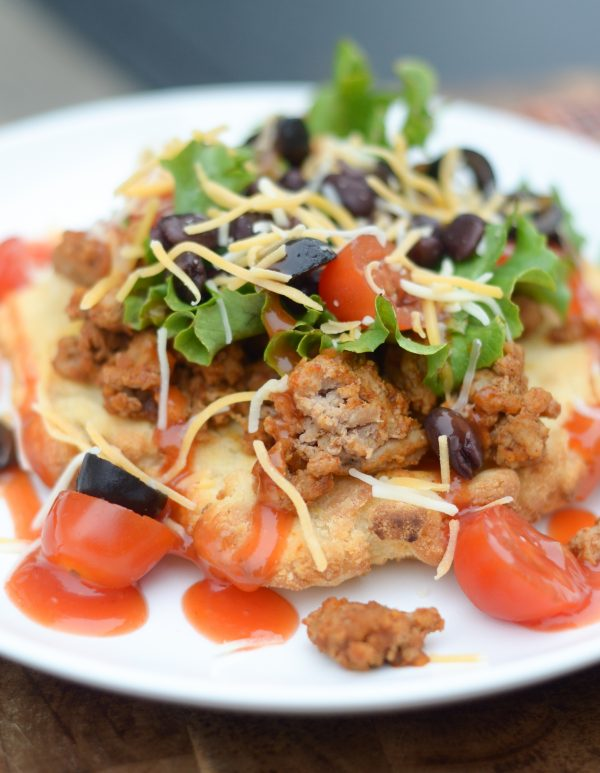 Gluten Free Air Fryer Indian Tacos #GlutenFree #AirFryer
