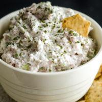 Easy Dill Ham Salad