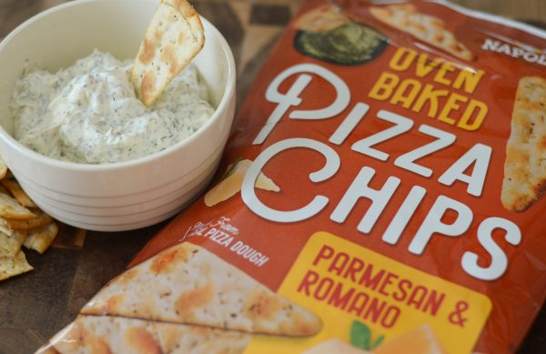 Creamy Ranch Dill Dip & Pizza Chips #HelloDeliciousBrands #ad