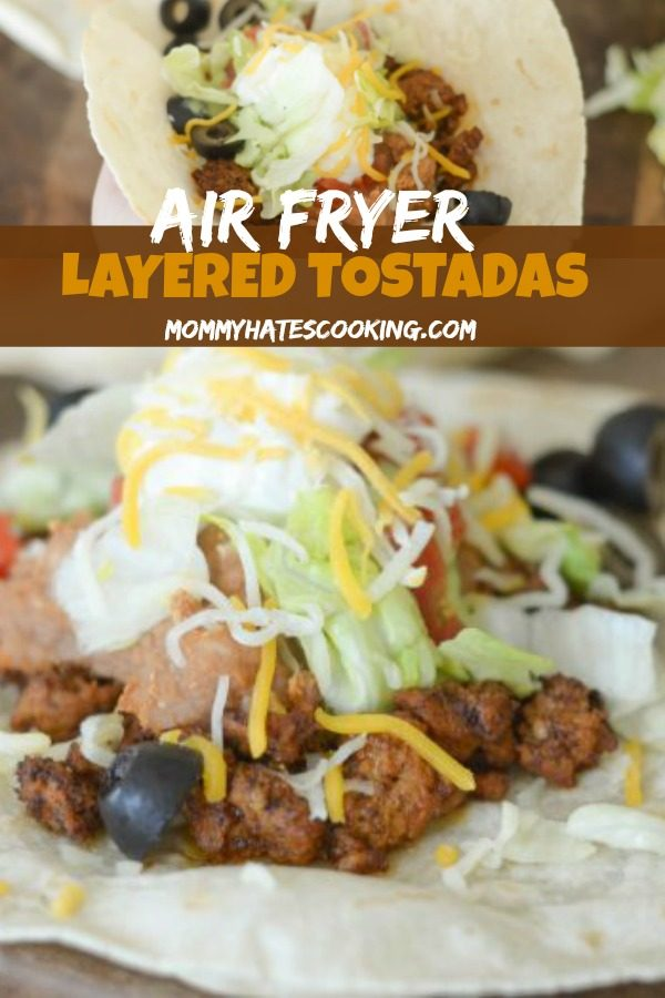Air Fryer Tostada