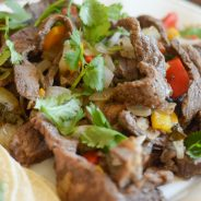 Grilled Balsamic Steak Street Tacos