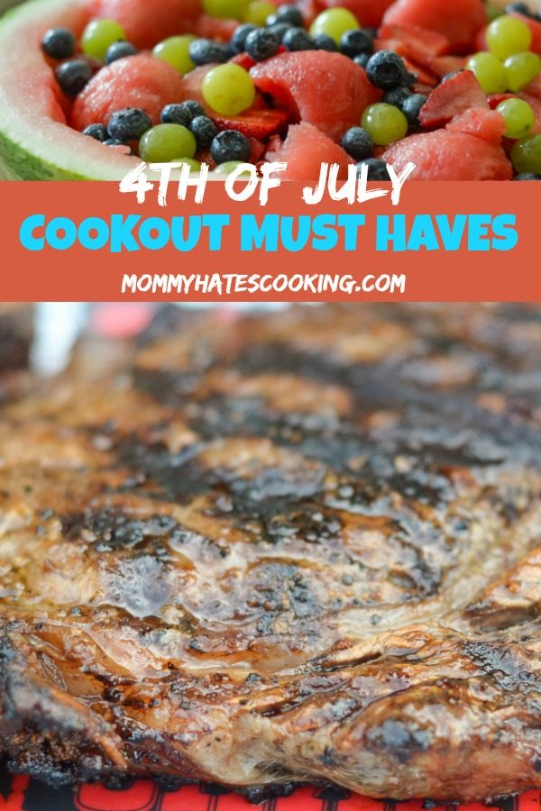 10 Must Haves for 4th of July Cookouts