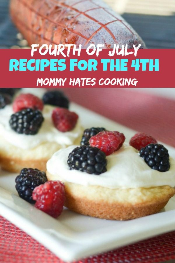 RECIPES FOR THE FOURTH OF JULY