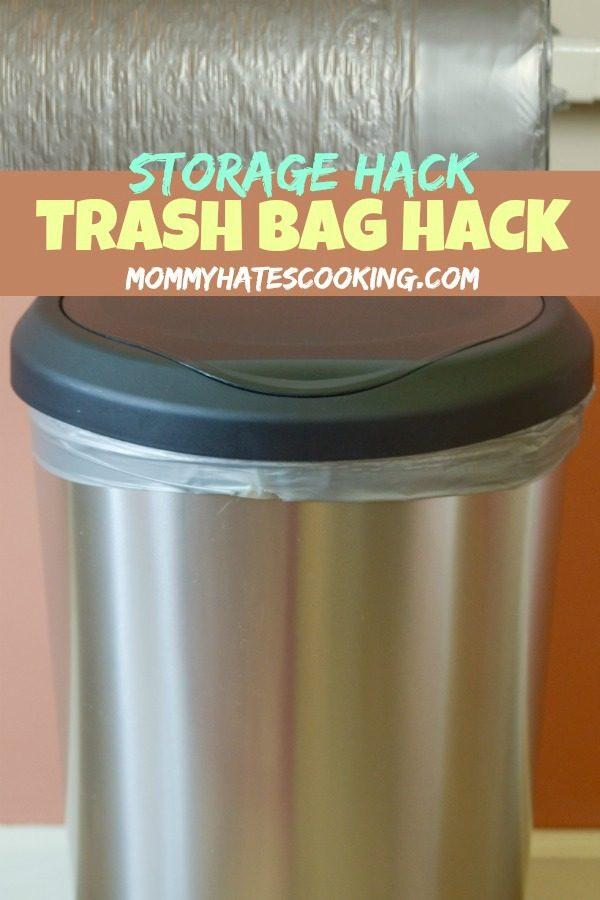 Trash Bag Storage Hack with Color Scents