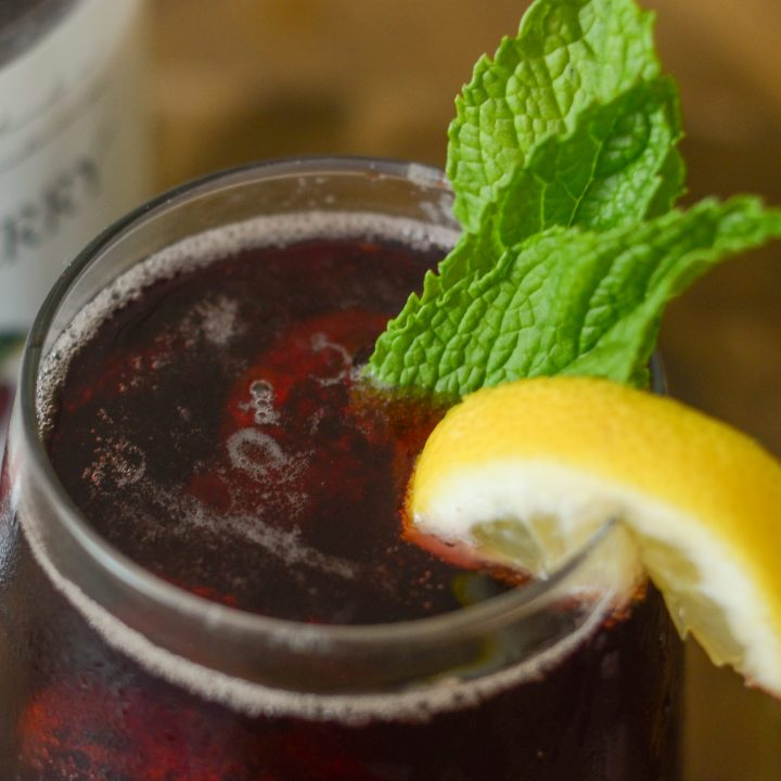 Cherry Mint Spritzer